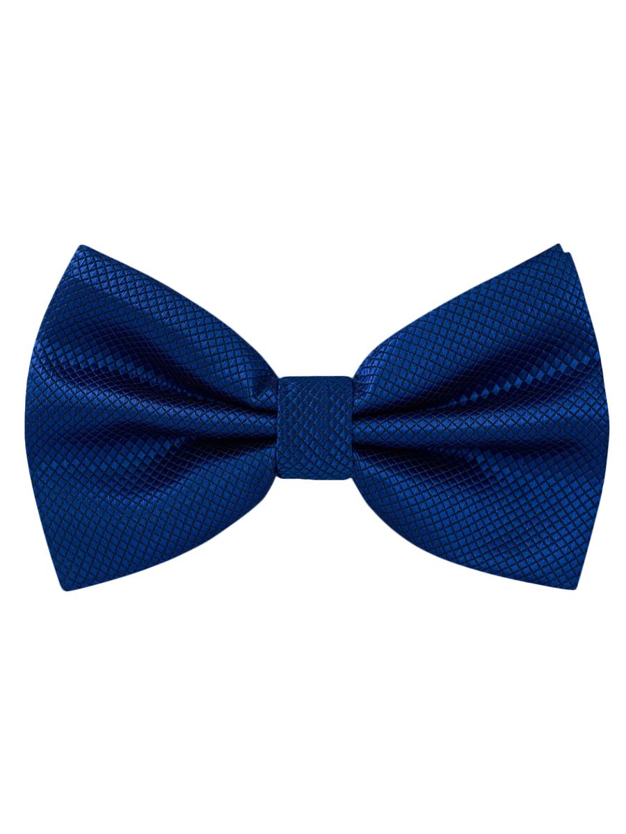 Галстук-бабочка синяя стильная